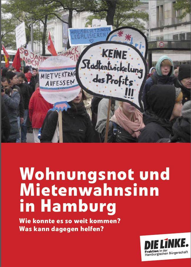 Neue Broschüre: Wohnungspolitik und Mietenwahnsinn in Hamburg