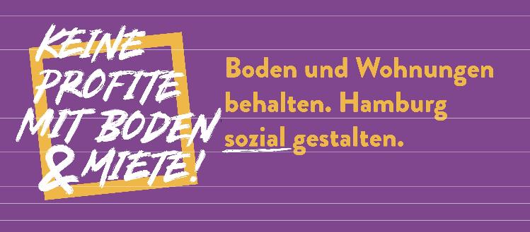 WOHNEN STATT PROFITE – Volksinitiativen unterschreiben!