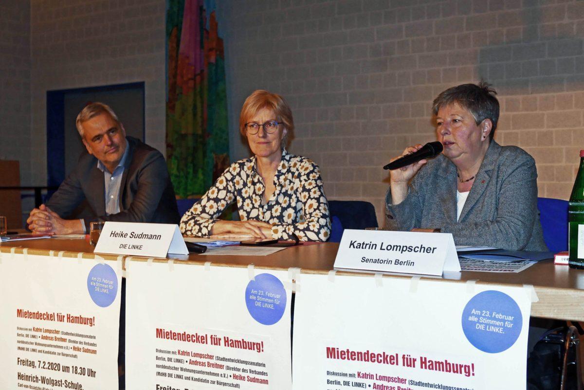 Abendblatt: Erkenntnisgewinn statt Fensterreden – Heike Sudmann, der Wohnungsmarkt und der Wahlkampf
