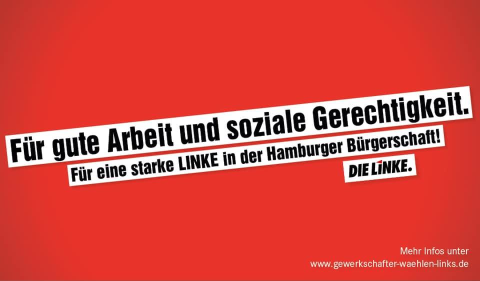 Mitmachen und unterstützen: Gewerkschafter*innen wählen links