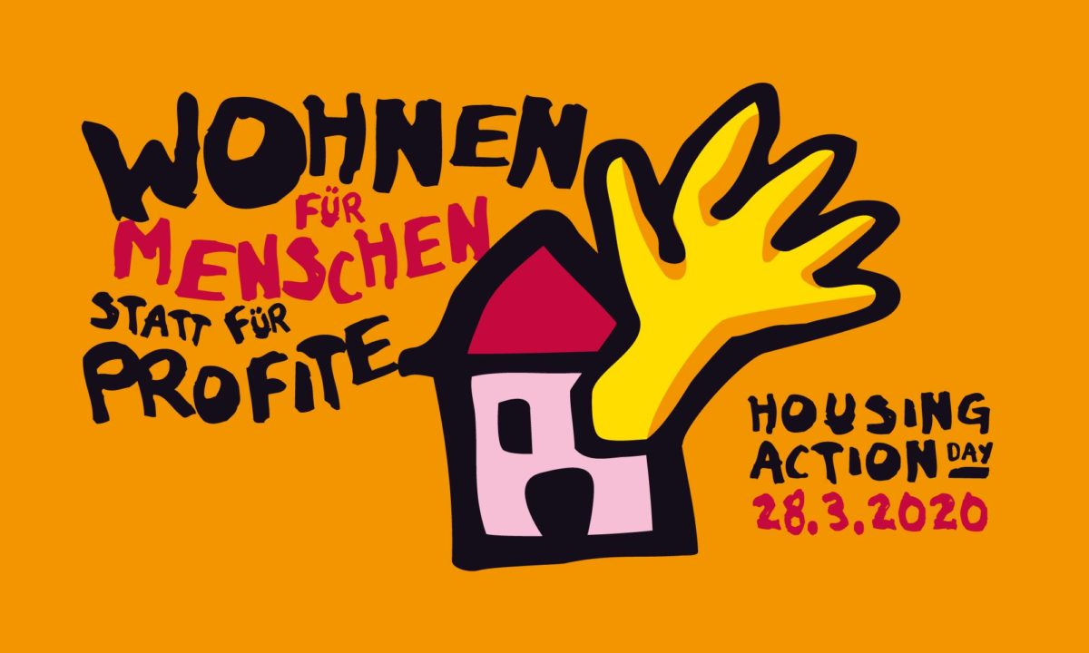 Was tun! Housing Action Day 28032020