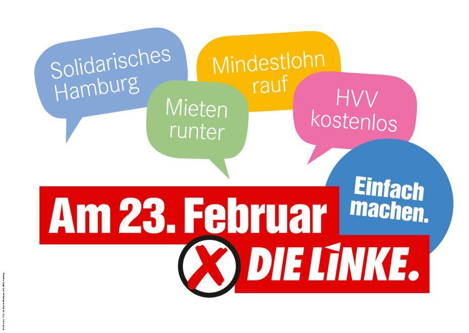CODE#23022020: Erst LINKE wählen – dann Party