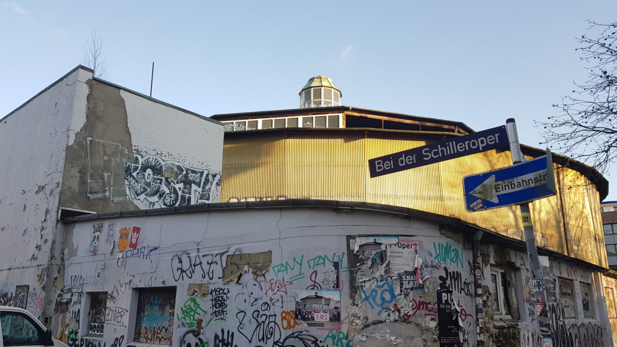 Denkmalgeschützte Schilleroper: Spekulation mit Rostlaube