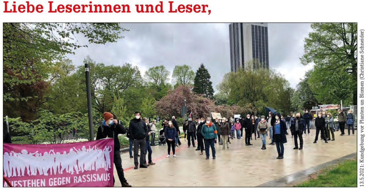 1. Mai-Nachlese +++ Mieten: Deckel! +++ Haushalt: Stadt, Verkehr, Wohnen +++ Kinderrechte +++ Sozialindex Schulen