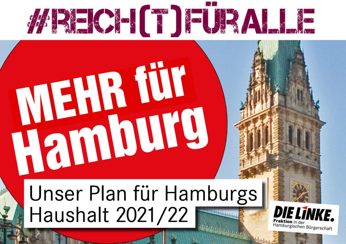 #Reich(t)füralle: Ein LINKER Haushalt für Hamburg