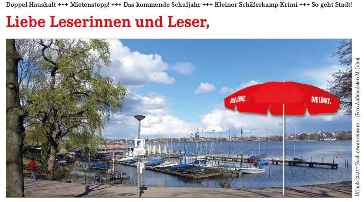 Bürger:innenbrief: 36 Mrd Euro Hamburg – wofür?